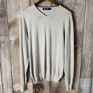 J Crew Cream Knit Oversized Long Sleeved Sweater